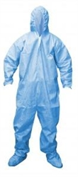 Cordova FR Disposable Coverall, Hood/Boots, 3XL FRC400