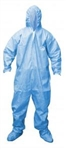 Cordova Flame Resistant Disposable Coverall, Hood, Boots, Size 5XL, Defender, FRC400
