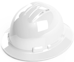 Cordova Vented Hard Hat, Full Brim, 4 Pt. Ratchet H34R1V