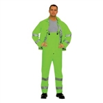 Cordova Hi-Vis Green Rainsuit, 3-Piece, HV353G