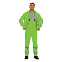 Cordova Hi-Vis Green 3-Piece Rainsuit HV353G