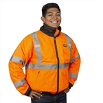 Cordova Bomber Jacket, Class 3, Reptyle, Orange or Lime