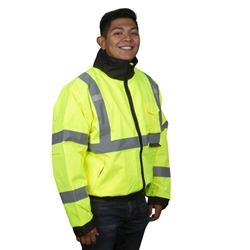 Cordova Winter Jacket, Class 3, Reptyle, Lime, J221
