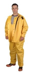Cordova JetStream 2-Piece Yellow Hydroblast Suit, Size 5XL