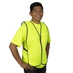 Cordova Economy Mesh Safety Vest, Lime