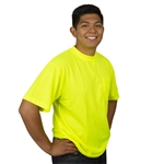 Cordova Type O Non Rated Short Sleeve T-Shirt, Lime