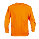 Cordova Long Sleeve Orange Shirt, Non Rated V140