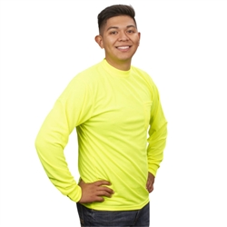 Cordova Type O Non Rated Long Sleeve T-Shirt, Lime