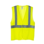 Cordova Safety Vest, Class 2 Lime, Hook/Loop V221