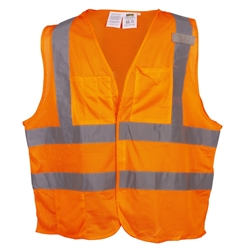 Cordova Type R Class 2 Limited FR Safety Vest, Orange or Lime