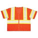 Cordova Class 3 Safety Vest, Orange, Pockets V3200