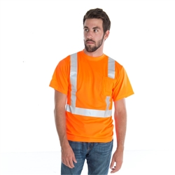 Cordova Class 2 Mesh T-Shirt, Orange or Lime