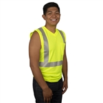 Cordova Class 2 Sleeveless T-Shirt, Lime V421
