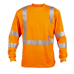 Cordova Class 3 Long Sleeve T-Shirt, Orange or Lime