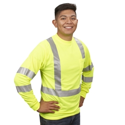 Cordova Class 3 Long Sleeve T-Shirt, Lime
