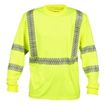 Cordova Cor-Brite Comfort Stretch Type R Class 3 T-Shirt, Lime