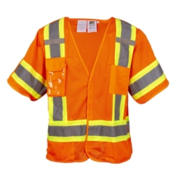 Cordova FR Safety Vest, Class 3 Orange Break Away VB3200fr