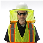 Cordova Hard Hat Neck Shade, Hi-Vis, VHB100