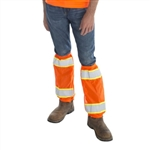 Cordova Hi-Vis Leg Gaiters, Orange, 2 Tone Tape, VLG200