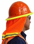 Cordova Hard Hat Neck Shade, Hi-Vis Orange VNS100