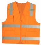 Cordova Surveyors Type R Class 2 Safety Vest, Orange