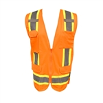 Cordova Class 2 Surveyors Vest, Orange VS285