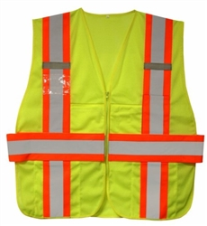 Cordova Class 2 Expandable Safety Vest, Lime VS291P