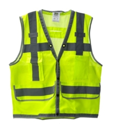 Cordova Class 2 Surveyor Vest, Lime, VS296