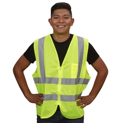 Cordova Class 2 Mesh Safety Vest, Lime