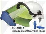 Elvex CU-ARC-3 Arc Flash Kit, 12 Cal Rated, CU-ARC-3