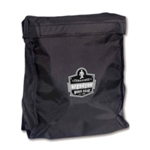 Ergodyne Full Mask Respirator Storage Bag, Black GB5183