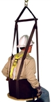 FrenchCreek 4000 Series Work Seat with Built in Harness