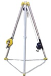 FrenchCreek Confined Space Rescue Tripod/3-Way/Work Winch S50G-M7