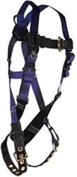 FallTech Full Body Safety Harness 1 D-Ring 7016
