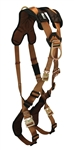 FallTech ComforTech 70672D Series Full Body Harness 3-D