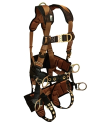FallTech Tower Climber Harness 6 D-Ring, ComforTech, 7084 Series