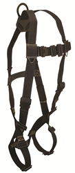 FallTech Arc Flash Full Body Harness, 1-D Ring, 7047