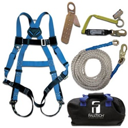 FallTech Contractor+ Roofer's Kit with Storage Bag