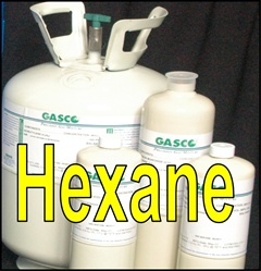Gasco Hexane Calibration Gas Mixture