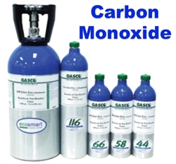 Gasco Carbon Monoxide Calibration Gas Mix, EcoSmart
