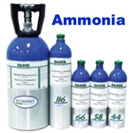 Gasco Ammonia Calibration Gas Mixture, EcoSmart