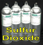 Gasco Sulfur Dioxide Calibration Gas Mixture