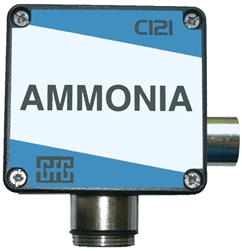 GfG Fixed Gas Detector, Ammonia (0(30) - 1,000 ppm), CI 21
