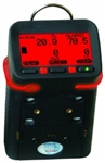 GfG Portable 4-Gas Confined Space Monitor, Rechargeable Battery, G450