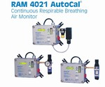 GfG RAM 4021 AutoCal Series Respiratory Air Monitors