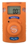 Macurco Single Gas Detector, Hydrogen Sulfide, PM100