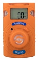 Macurco Single Gas Detector, Hydrogen Sulfide, PM100 (H2S)