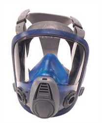 MSA Full Face Respirator, Medium Advantage 3200