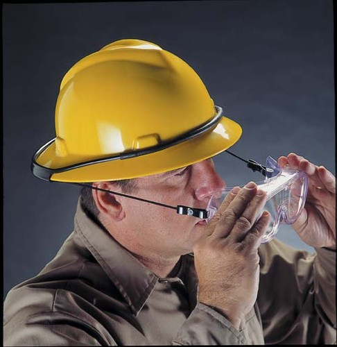 846c312a450c MSA Goggle Retainer for Full Brim Style Hard Hats (449895)