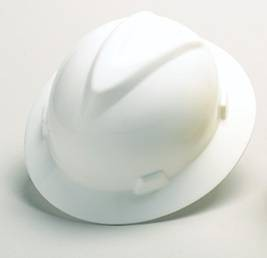 MSA V-Gard Full-Brim Hard Hat